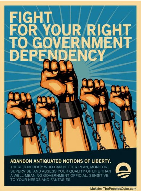 Fight for your right to government dependency
